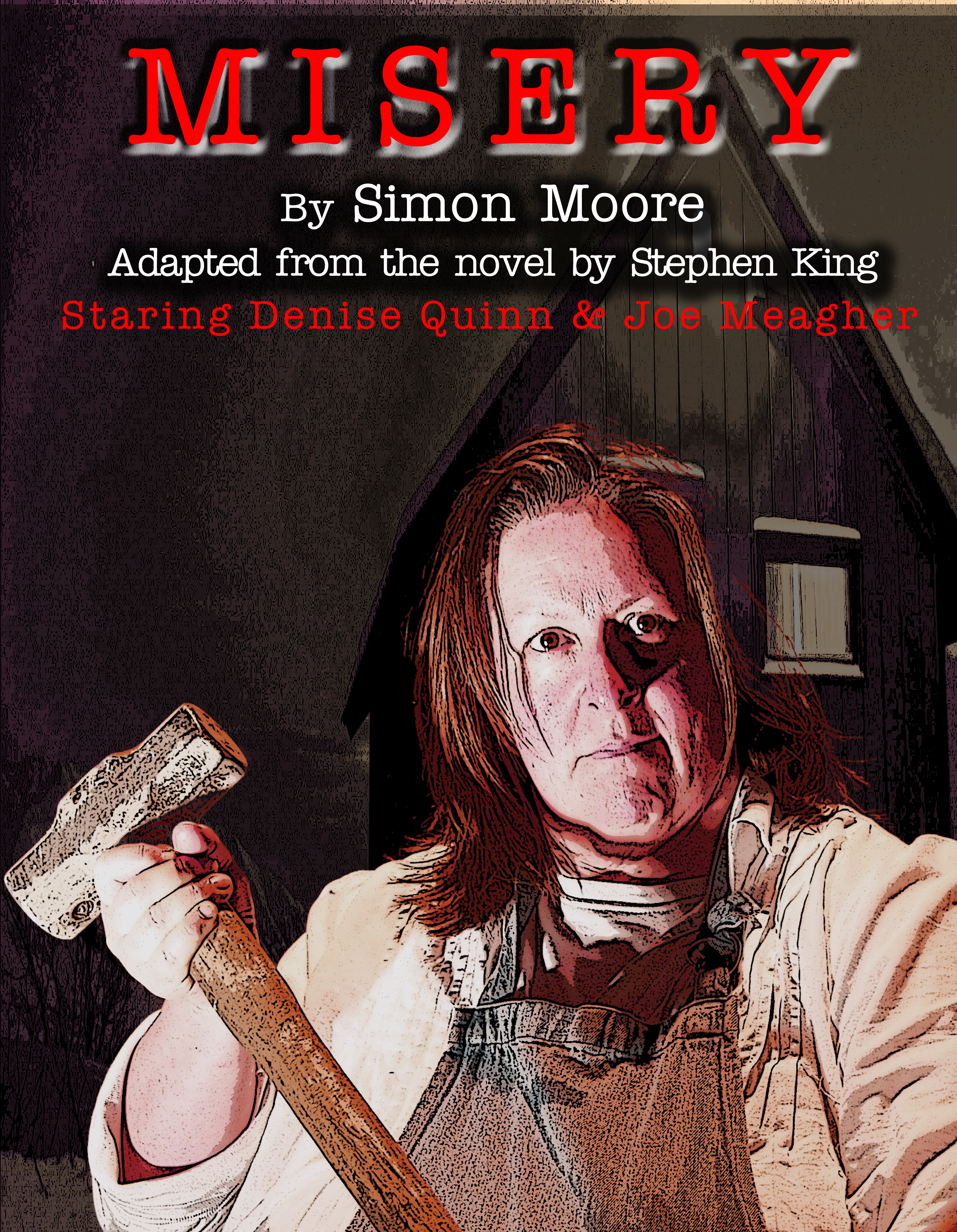 Stage version of Misery from the novel by Stephen King