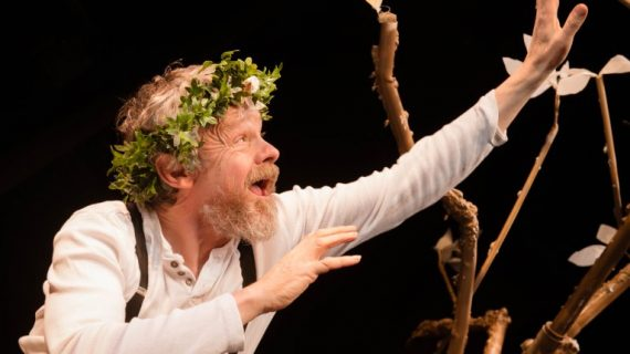 """Cyclone Rep perform """"The King Lear Session"""". Photo Joleen Cronin"""