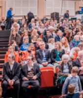 Audiences at Ballina Arts Centre for Silent Moves premiere. Image Paul Fox