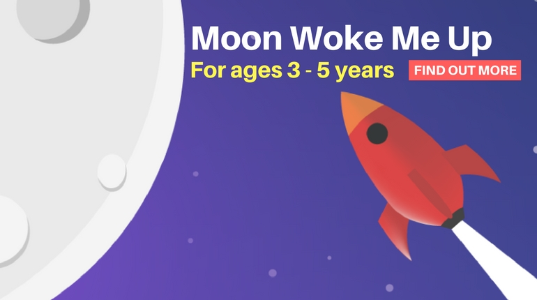 Moon Woke Me Up