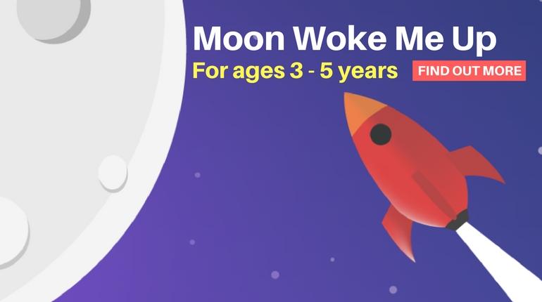 Moon Woke Me Up