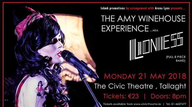 Amy Winehouse Civic Theatre 770x430