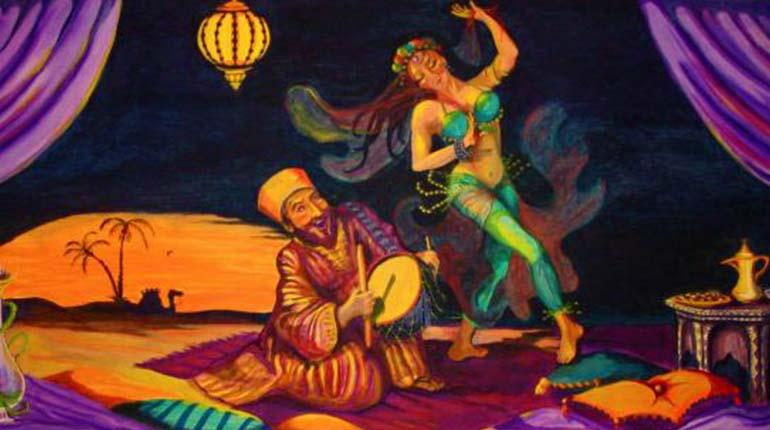 Arabian nights Nude Photos 65