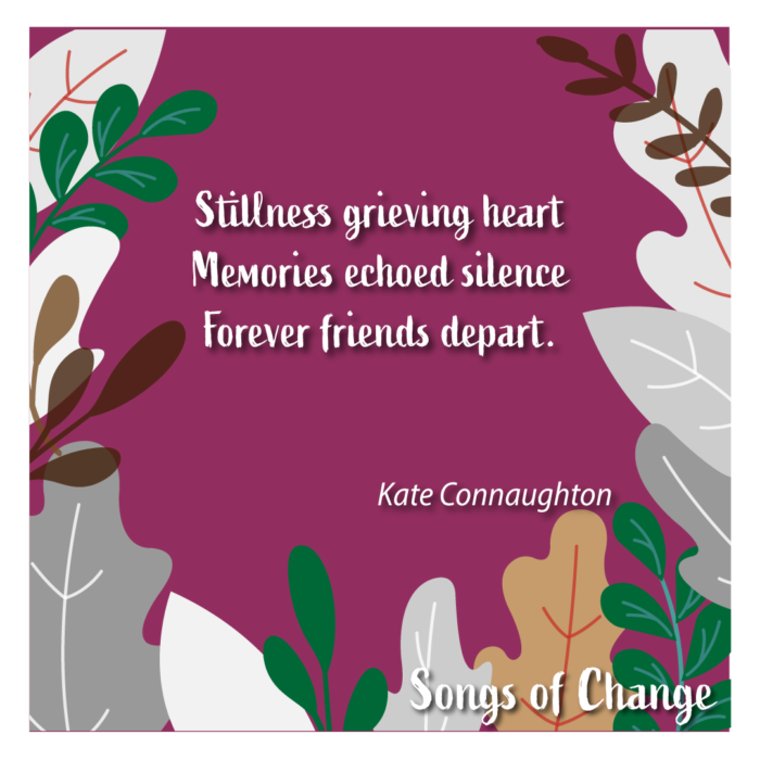 Poem February 2021 Song of Change poetry Anonymous The Civic by Kate Connaughton