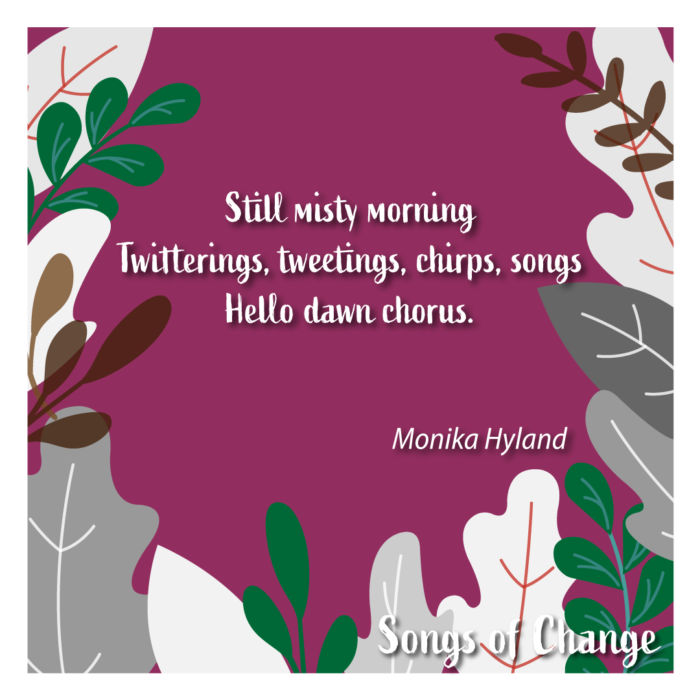 Poem February 2021 Song of Change poetry Anonymous The Civic by Monika Hyland