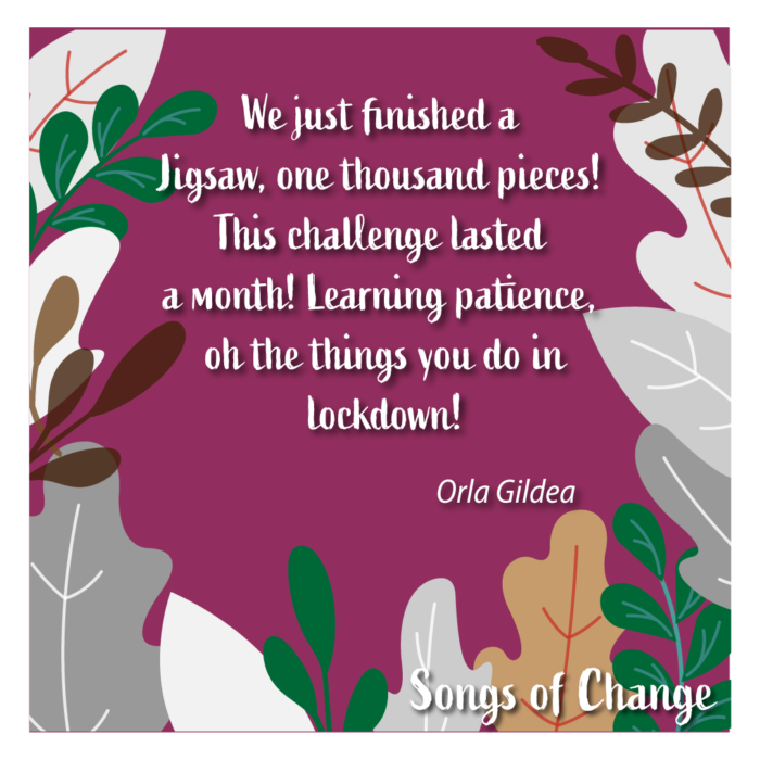 Poem February 2021 Song of Change poetry Anonymous The Civic by Orla Gildea